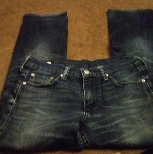 Mens Levi's blue jeans W30xL30